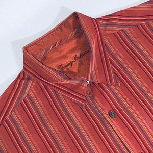 Tommy Bahama L Multi-color Long Sleeve Dress Shirt
